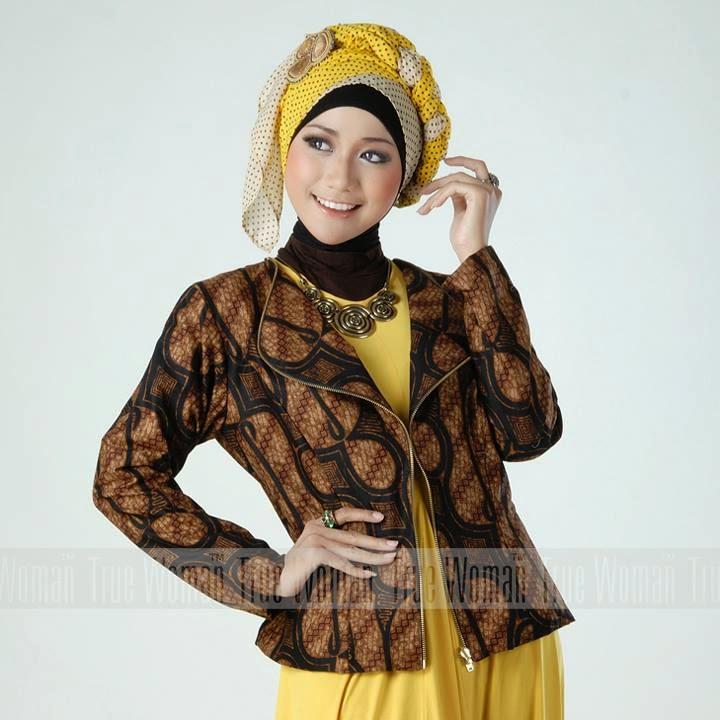 Contoh Model Blazer Batik Dian Pelangi Modern Terbaru untuk Remaja d987e6ee67